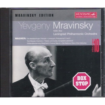 MRAVINSKY Wagner Orchestral music UNIKAT