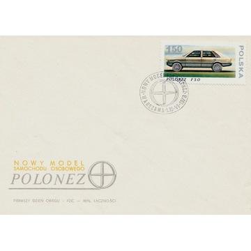 1978 Nowy model samochodu osobowego - Polonez FDC