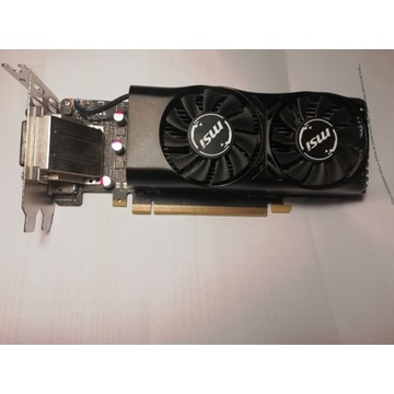 MSI GTX 1050 Ti low profole 4GB 128bit DDR5