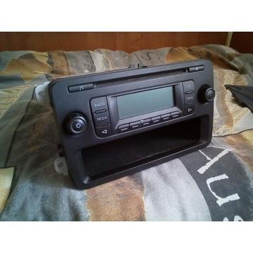 SKODA FABIA II 5J RADIO BLUES 5J0035152D