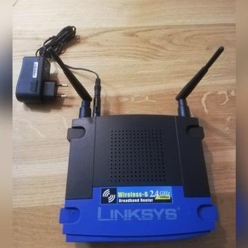 Router szerokopasmowy Wireless-G Linksys WRT54GL-E