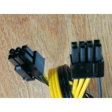 Kabel GPU 6pin / 8pin (6+2) 50cm