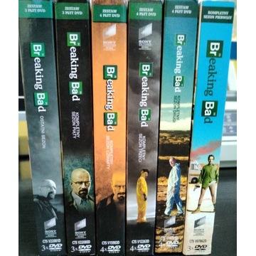 Breaking Bad wszystkie sezony dvd wydania Polskie
