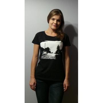 T-shirt TWARÓG WE MGLE damski rozmiar S