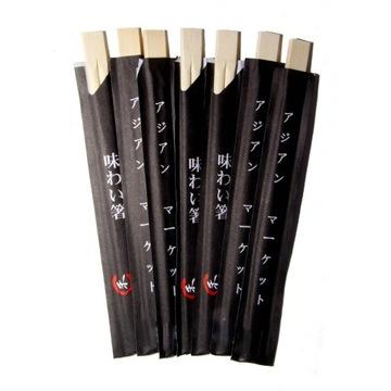 Pałeczki do sushi 10 szt czarne i białe