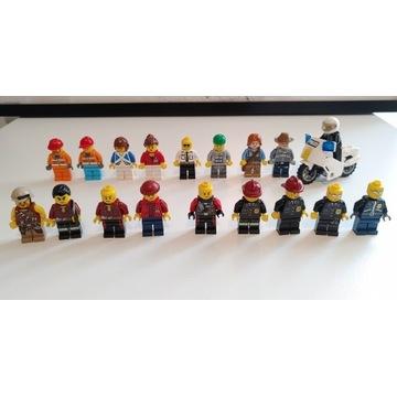 Lego City figurki (18szt)