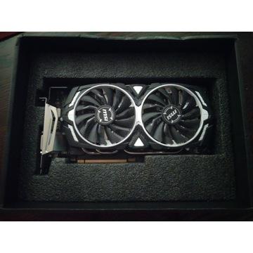 GTX 1080 MSI ARMOR OC 8GB NVIDIA sprawna