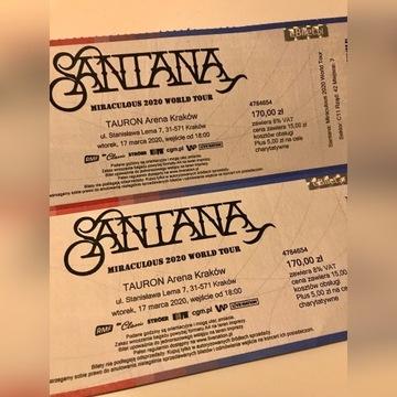 Santana 2 bilety, Kraków 17.03.20 Carlos Santana