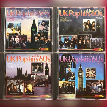 UK POP HITS of the 60's 4CD