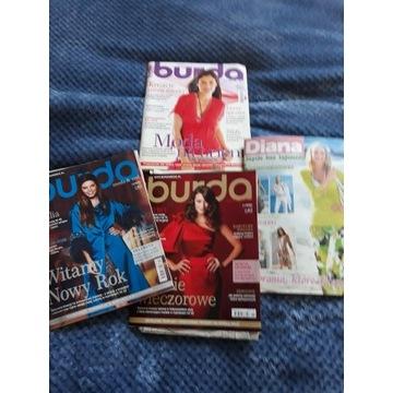 Burda 4/2009 12/2009 11/2009 grat Moden Diana2/09