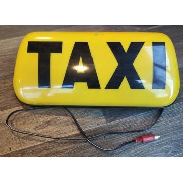 Lampa (kogut) TAXI + UCHWYT na telefon Forever