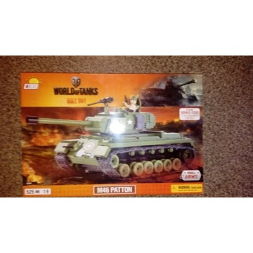 Cobi klocki M46 Patton WOT Unikat! Niedostępny!