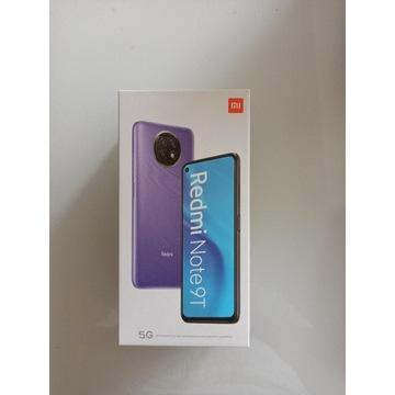 Xiaomi Redmi Note 9T 5G 4/128GB purple NOWY
