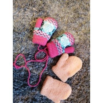Rękawiczki 6 miesięcy