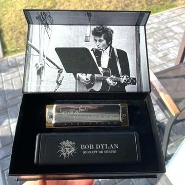 Harmonijka Hohner Bob Dylan z autografem Tonacja C