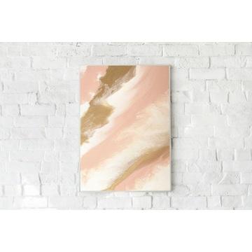 Oryginalny Obraz Abstrakcja na płótnie 50 x 40 cm