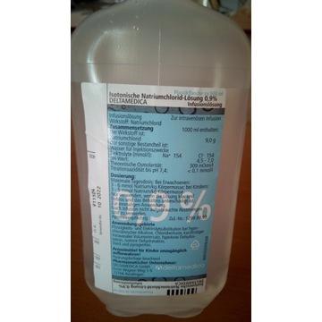 Sól ustrojowa 0,9% do inekcji, kroplówek
