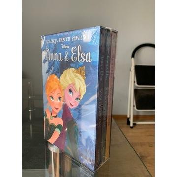 Anna i Elsa Kolekcja 3 powieści Disney