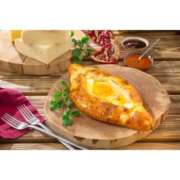 Kuchnia gruzińska - Chaczapuri Adżarskie 5 szt