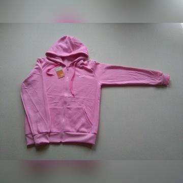Bluza damska Nike kaptur rózowa