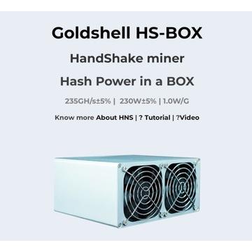 Goldshell HS-BOX koparka HNS krypto