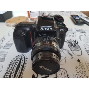 Nikon F50 (Klisza) Body + Obiektyw Nikkor-100%Spra