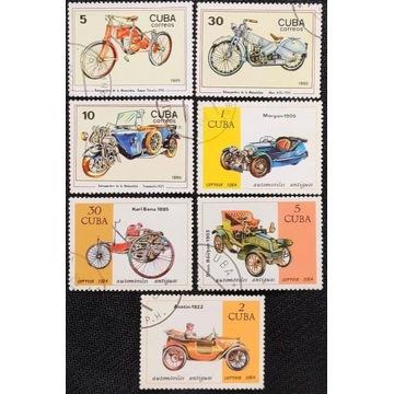 Motoryzacja - KUBA* 1984, 1985