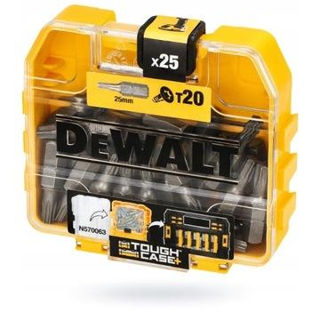 DeWALT DT7961 BITY DO WKRĘTARKI TORX T20 25 szt.
