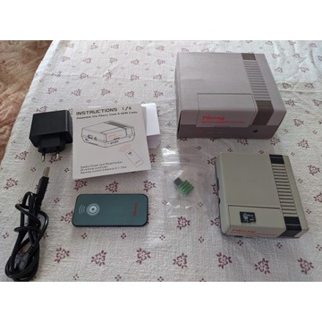 Raspberry PI3 zestaw NES Piboxy + 64GB + Pilot