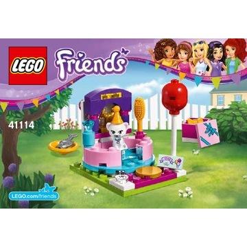 LEGO Friends Urodzinowa Impreza Kot 41114