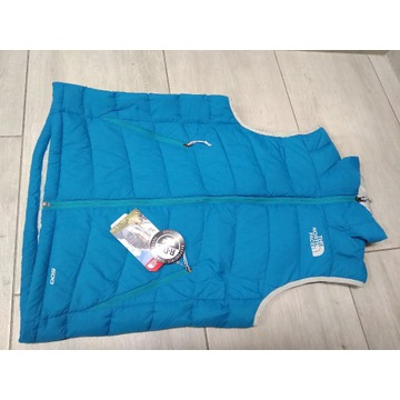 kamizelka the north face S nowy puch góry blue