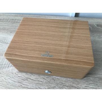 Pudełko, szkatułka na zegarek Omega