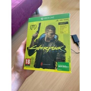 Cyberpunk 2077 PL Xbox One / Series X Nowa Folia