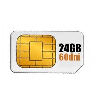 Internet 24GB Roaming EU Karta SIM 60 dni