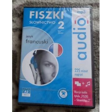 FRANCUSKI Fiszki SŁOWNICTWO 2 audio mp3 A2 DELF 2
