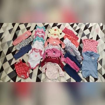Mega duża paka ubrań dla dziewczynki 62