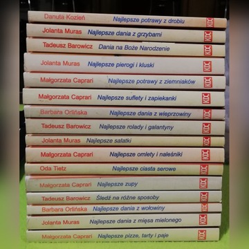 16 książek kulinarnych z KDC
