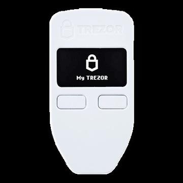 Portfel sprzętowy Trezor One White