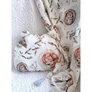 Bambusowy zestaw kocyk i poduszka Sleepers