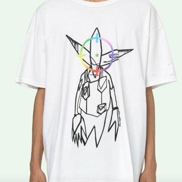 T-shirt Off White Futura Alien 2020