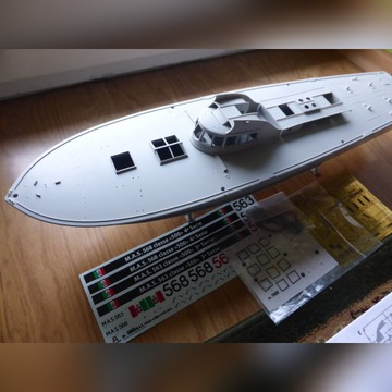 1/35 5608 Italeri M.A.S. 568 4a kuter torpedowy