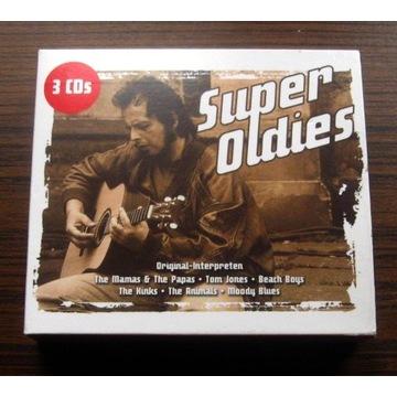 SUPER OLDIES 3 CD Super stan DOORS ANIMALS MONKEES