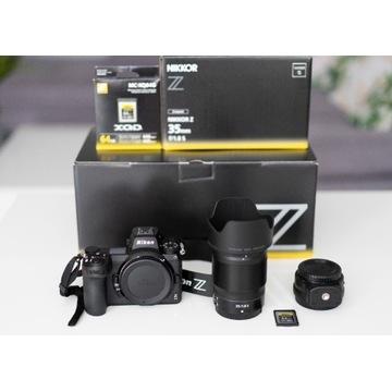 Nikon Z6II + FTZ + Z 35mm f/1.8 S + Karta XQD 64GB