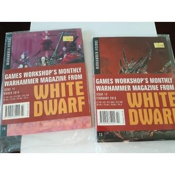 ZESTAW -WHITE DWARF VISIONS x2! TANIO !!!
