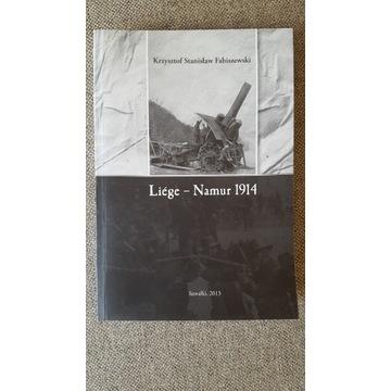 Historyczne bitwy - LIEGE NAMUR 1914 - Nowa.UNIKAT
