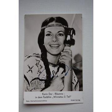 autograf Karin Dor