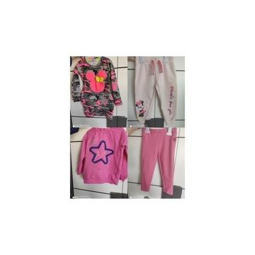 Ubranka dla dziewczynki r86