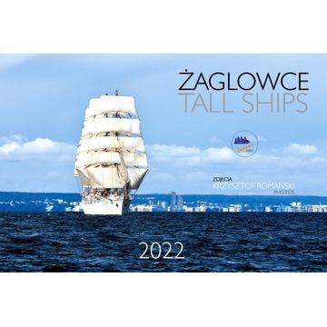 Kalendarz 2022 Żaglowce / Tall Ships / Duży Format