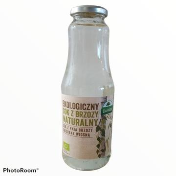Ekologiczny sok z brzozy naturalny 1litr EkoWital
