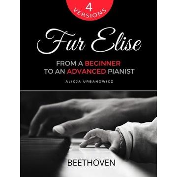 Dla Elizy - Nuty na fortepian - 4 wersje - PDF